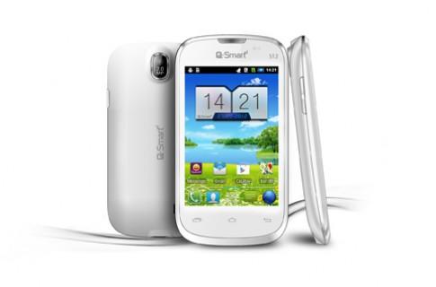 Q-Smart S12 - smartphone Android 3G giá dưới 2 triệu