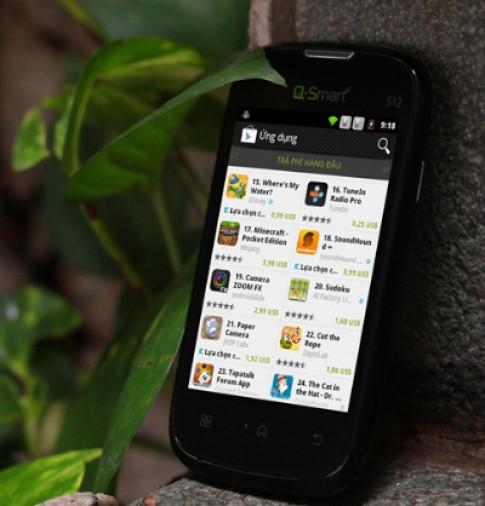 Q-Smart S12 - smartphone phổ thông nổi bật