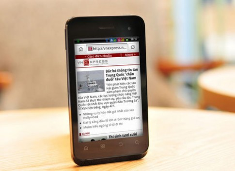 Q-Smart S15 - thế giới Android mạnh mẽ