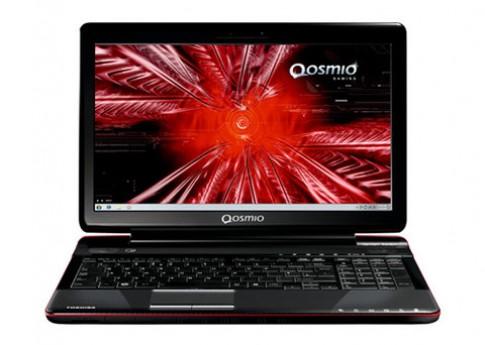Qosmio F750 cho game thủ về VN giá 34 triệu