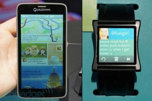 Qualcomm trình diễn màn hình smartphone công nghệ Mirasol mới