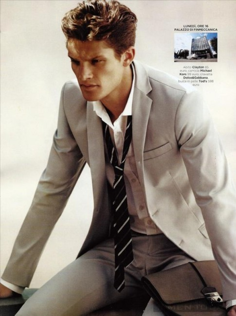 Quý ông lịch lãm, sang trọng với suit trên QG Italia