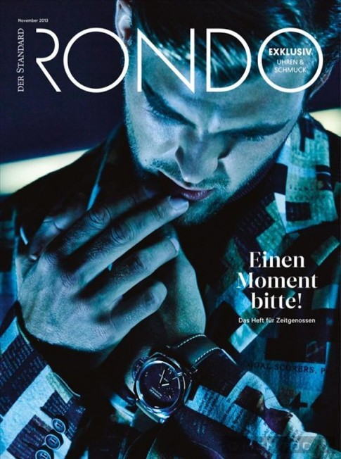 Quý ông nam tính và lịch lãm trên tạp chí Rondo