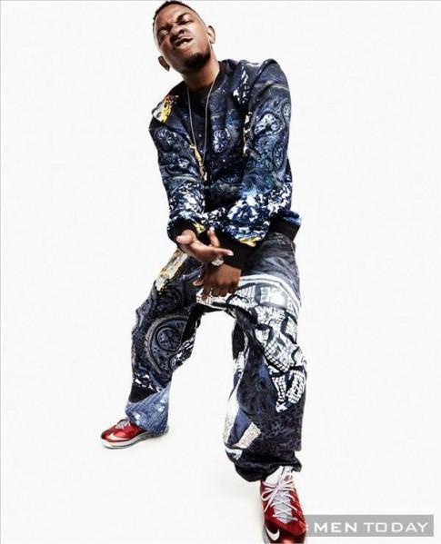 Rapper Kendrick Lamar nổi bật trên tạp chí Bullett