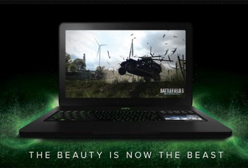 Razer Blade nâng cấp chip Ivy Bridge và card Nvidia GTX 660M