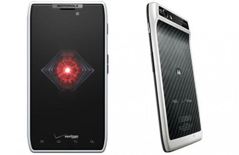 Razr của Motorola có thêm phiên bản màu trắng
