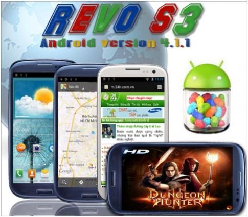 Revo S3 chính thức được nâng cấp rom 4.1.1