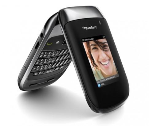 RIM giới thiệu BlackBerry nắp gập tiếp theo