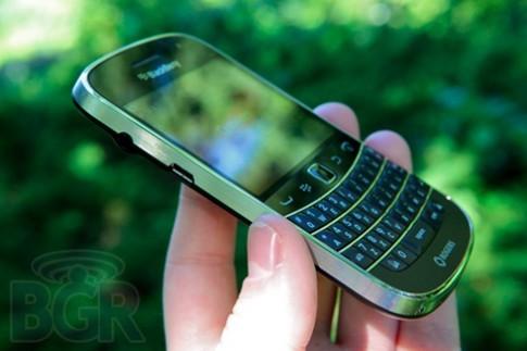 RIM xác nhận lỗi 'đột tử' của Bold Touch 9900/9930