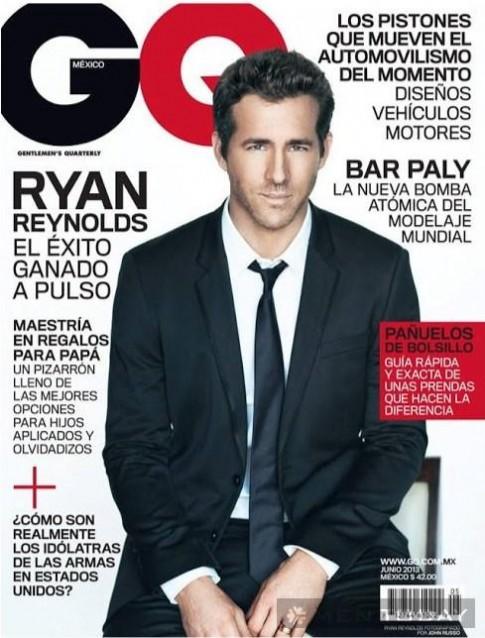 Ryan Reynolds trẻ trung, lịch lãm và nam tính trên GQ
