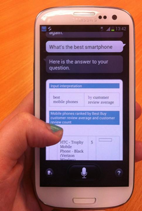 S-Voice xem smartphone Windows Phone là tốt nhất
