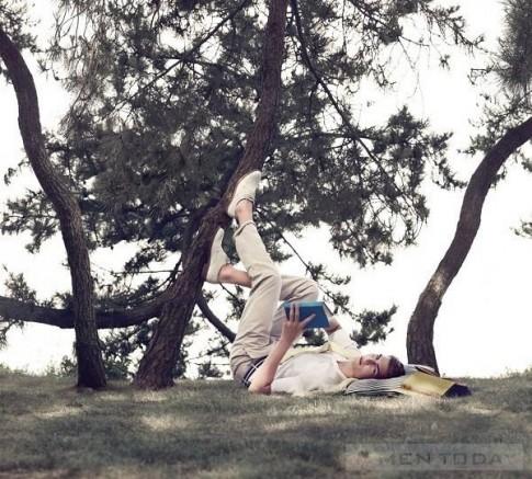 Sắc màu vintage tràn ngập BST thời trang nam Xuân hè 2013