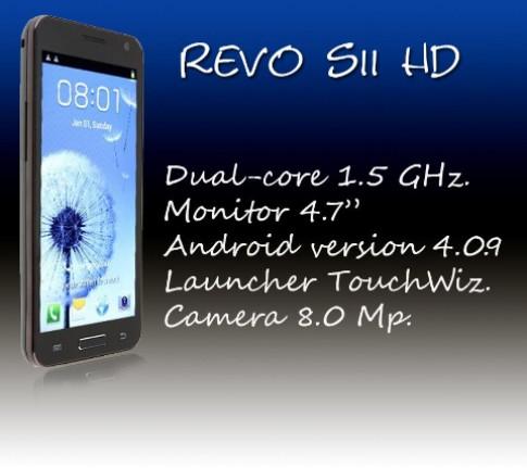 Saigonphone giới thiệu smartphone Revo SII HD