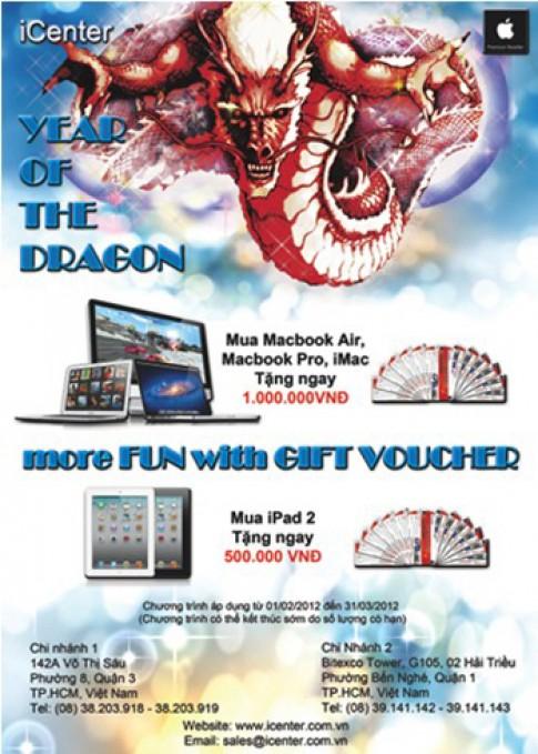 'Sắm Macbook, iPad - nhận lộc sung túc cả năm'