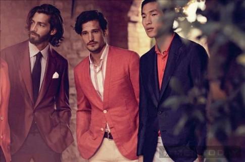 Sam Webb, Maximiliano Patane và Jae Yoo lịch lãm trong lookbook xuân hè 2013 của Brioni