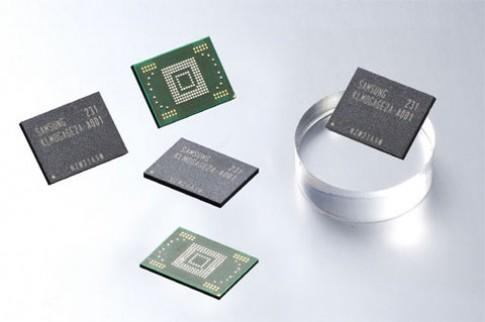 Samsung bắt đầu làm bộ nhớ 128 GB cho smartphone