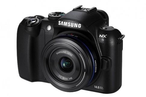 Samsung bất ngờ giới thiệu NX5 tại Đức