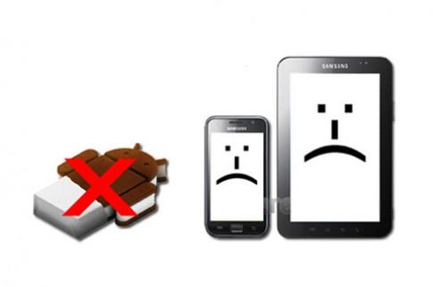 Samsung chính thức 'bỏ rơi' Galaxy S và Galaxy Tab 7