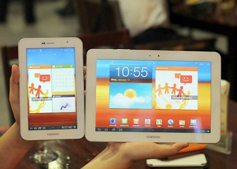 Samsung có thể không ra Galaxy Tab 3 bản 7 inch