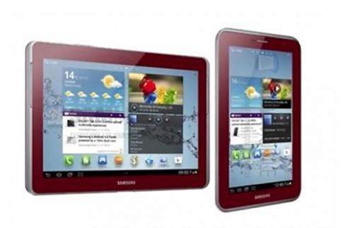 Samsung có thể ra mắt Galaxy Note 10.1 màu đỏ