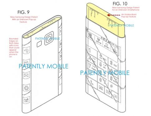 Samsung đăng ký bản quyền màn hình cong hai cạnh