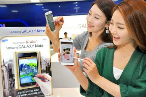 Samsung đạt lợi nhuận kỷ lục trong quý IV