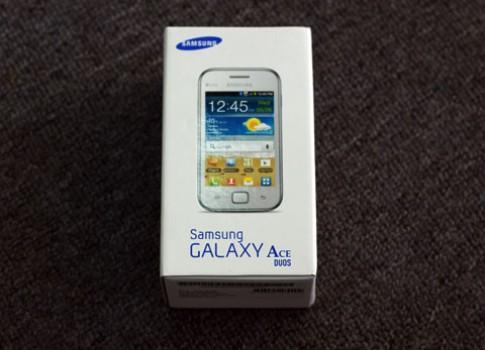 Samsung Galaxy Ace Duos có mặt tại VN