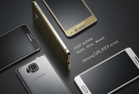 Samsung Galaxy Alpha có giá khoảng 12 triệu đồng ở VN