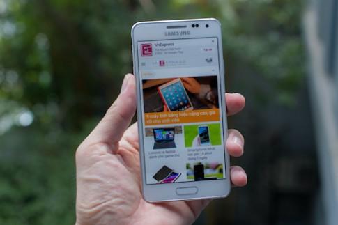 Samsung Galaxy Alpha xuất hiện tại Việt Nam
