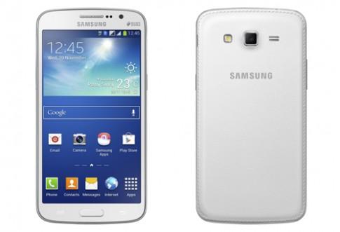 Samsung Galaxy Grand 2 ra mắt với mặt lưng giả da