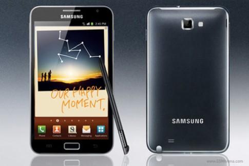 Samsung Galaxy Note được bán vào tháng 11