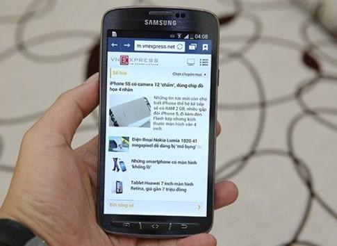 Samsung Galaxy S4 Active về Việt Nam với giá 15 triệu đồng
