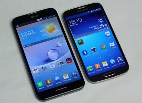 Samsung Galaxy S4 đọ dáng với LG Optimus G Pro