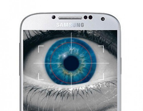 Samsung Galaxy S5 bảo mật bằng quét võng mạc