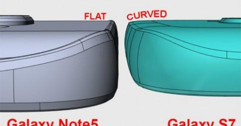 Samsung Galaxy S7 có mặt lưng cong cả 4 cạnh