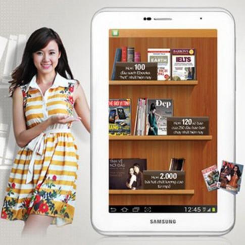 Samsung Galaxy Tab 2 7.0 – máy tính bảng chosinh viên
