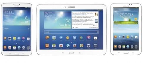 Samsung Galaxy Tab 3 có giá chỉ từ 199 USD