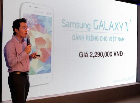 Samsung Galaxy V chính thức bán ra tại Việt Nam