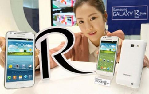 Samsung giới thiệu Galaxy R Style tại Hàn Quốc