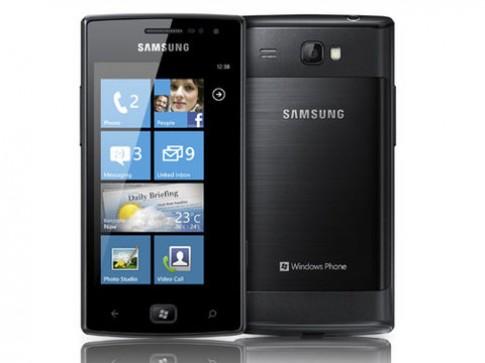 Samsung Omnia W sẽ chạy Window Phone Mango
