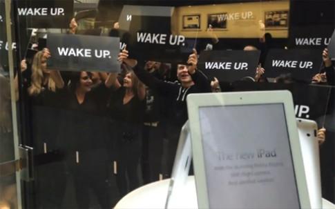 Samsung phủ nhận 'giật giây' vụ biểu tình tại Apple Store