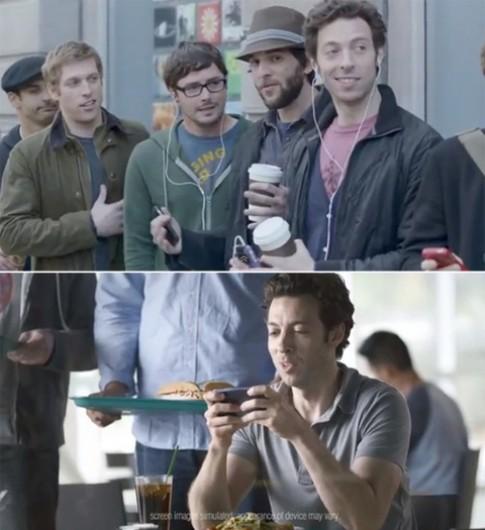 Samsung quảng cáo: Fan Apple thích dùng Galaxy S III