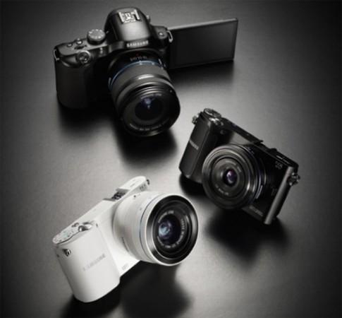 Samsung ra bộ 3 máy ảnh NX kết nối Wi-Fi