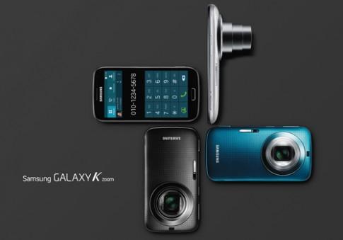 Samsung ra điện thoại chụp hình 20,7 megapixel