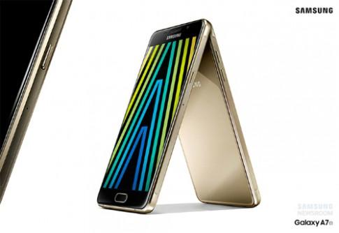 Samsung ra dòng smartphone Galaxy A mới, thiết kế như S6