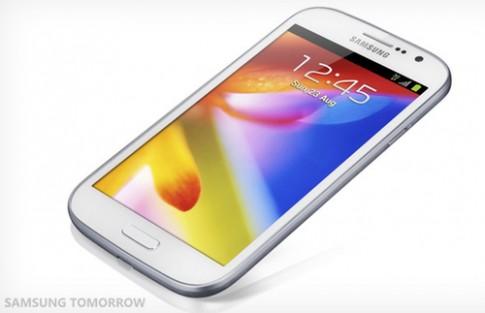 Samsung ra Galaxy Grand chip lõi kép, màn hình 5 inch