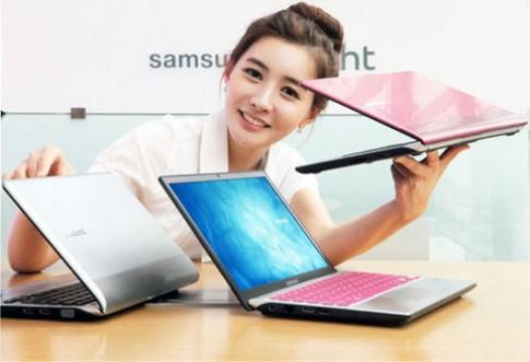 Samsung ra laptop Series 3 350U pin 8 tiếng