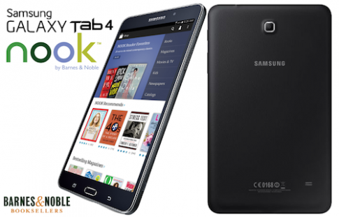 Samsung ra mắt bản Galaxy Tab 4 cho người thích đọc sách