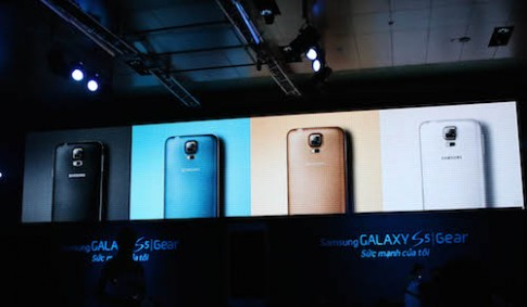 Samsung ra mắt Galaxy S5 cùng bộ đôi Gear tại Việt Nam