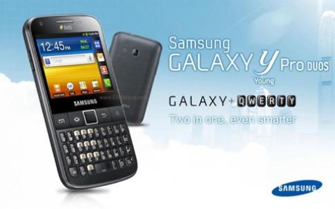 Samsung sắp ra Galaxy Y Pro hai sim